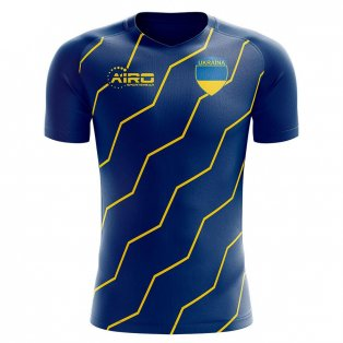 Ukraine 2020-2021 Away Concept Football Kit (Airo)