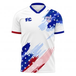 USA 2020-2021 Home Concept Kit (Fans Culture) - Kids