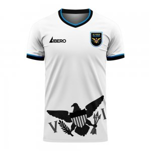 US Virgin Islands 2020-2021 Home Concept Football Kit (Libero) - Baby