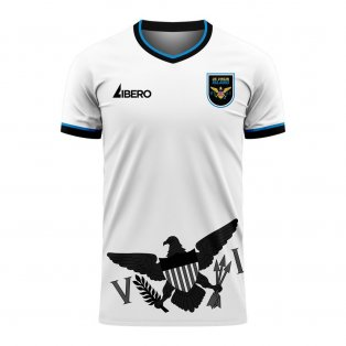 US Virgin Islands 2020-2021 Home Concept Football Kit (Libero)