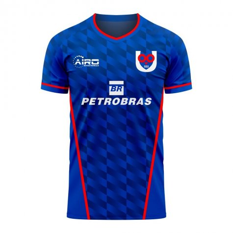 Universidad de Chile 2020-2021 Home Concept Football Kit (Libero) - Womens