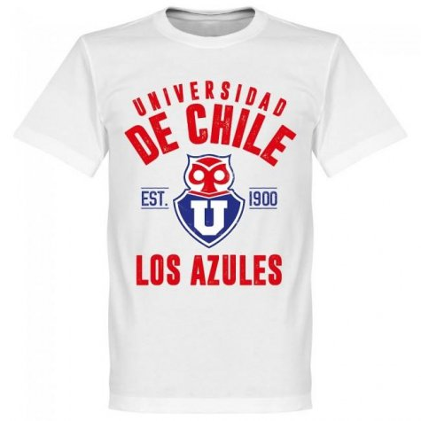 Universidad de Chile Established T-Shirt - White