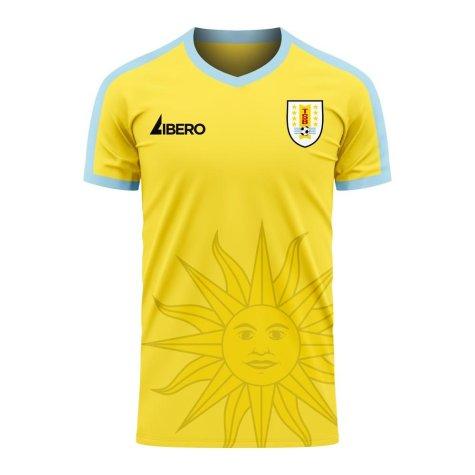 Uruguay 2020-2021 Away Concept Football Kit (Libero)