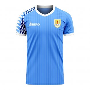 Uruguay 2020-2021 Home Concept Football Kit (Libero)