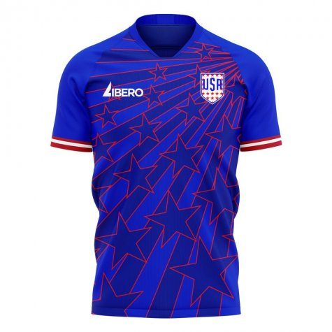 USA 2020-2021 Away Concept Football Kit (Libero)