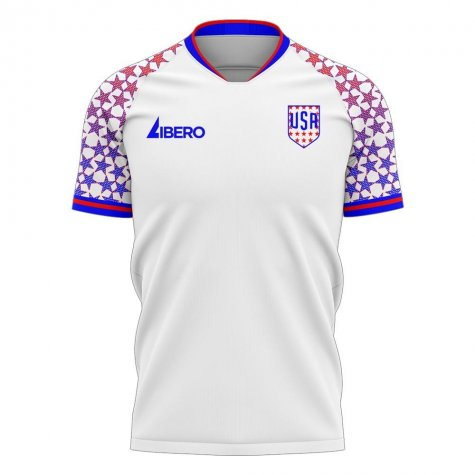 USA 2020-2021 Home Concept Football Kit (Libero)