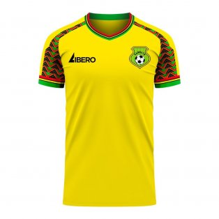 Vanuatu 2020-2021 Home Concept Football Kit (Libero)