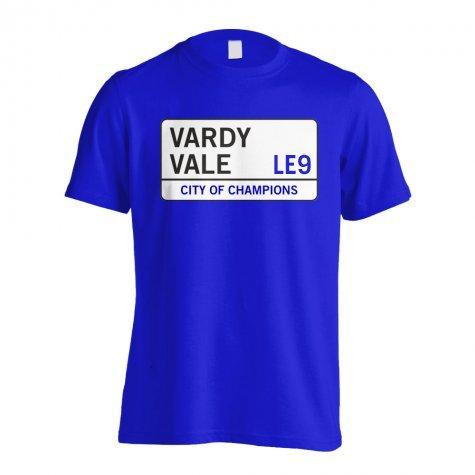 Vardy Vale - Leicester Street T-Shirt (Blue)