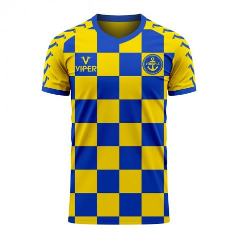FK Ventspils 2020-2021 Home Concept Football Kit (Viper)