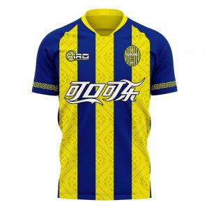 Hellas Verona 2020-2021 Home Concept Football Kit (Airo) - Kids