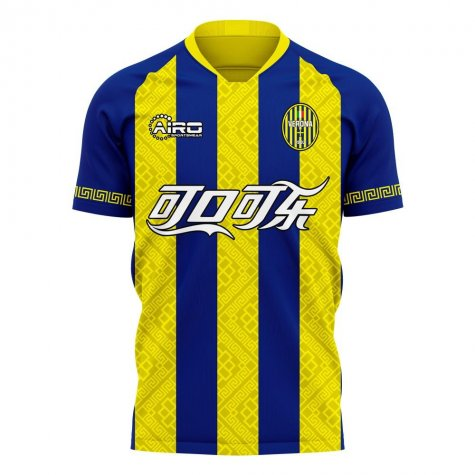Hellas Verona 2020-2021 Home Concept Football Kit (Airo)