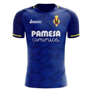 Villarreal 2020-2021 Away Concept Football Kit (Libero)
