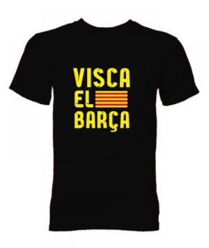 Visca El Barca T-Shirt (Black)