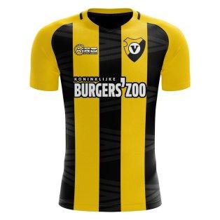 Vitesse Arnhem 2020-2021 Home Concept Football Kit (Libero)
