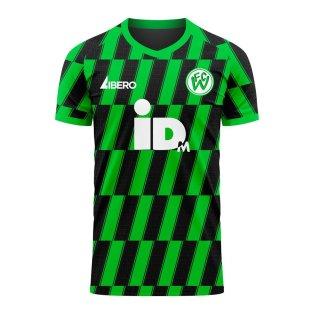 FC Wacker Innsbruck 2020-2021 Home Concept Football Kit (Libero) - Womens
