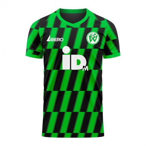 FC Wacker Innsbruck 2020-2021 Home Concept Football Kit (Libero)