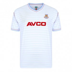 Score Draw West Ham 1986 Away Shirt