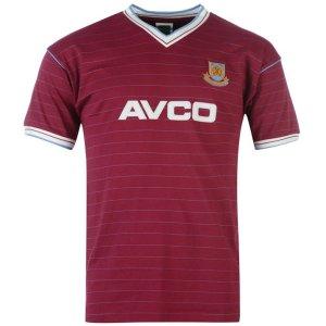 Score Draw West Ham 1986 Home Shirt