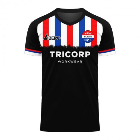 Willem II 2020-2021 Away Concept Football Kit (Libero) - Baby