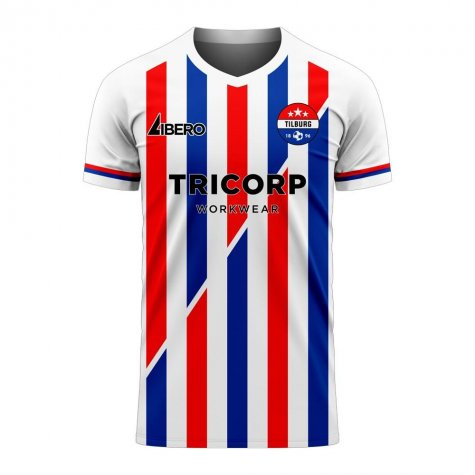 Willem II 2020-2021 Home Concept Football Kit (Libero)