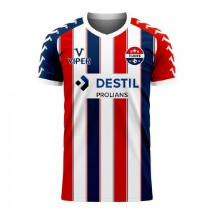 Willem II 2020-2021 Home Concept Football Kit (Viper) - Baby