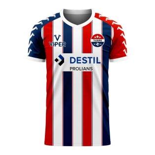 Willem II 2020-2021 Home Concept Football Kit (Viper)