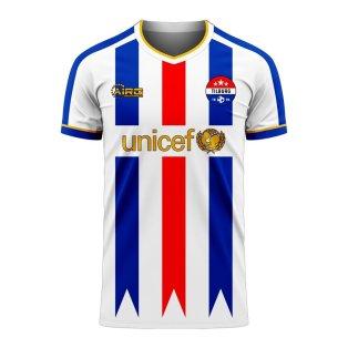 Willem II 2020-2021 Home Concept Football Kit (Airo)