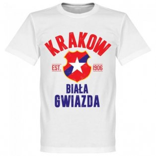 Wisla Krakow Established T-Shirt - White