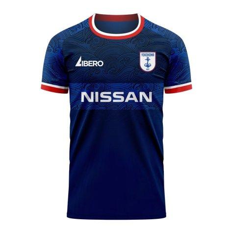 Yokohama Marinos 2020-2021 Home Concept Shirt (Libero) - Little Boys