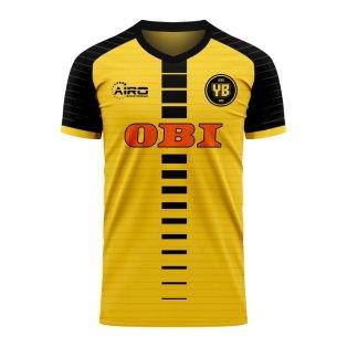 BSC Young Boys Switzerland Bern Swiss T Shirt UEFA Football Soccer YB Handmade