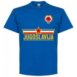 Yugoslavia Team T-shirt - Royal