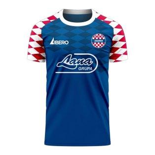 Dinamo Zagreb 2020-2021 Home Concept Football Kit (Libero)