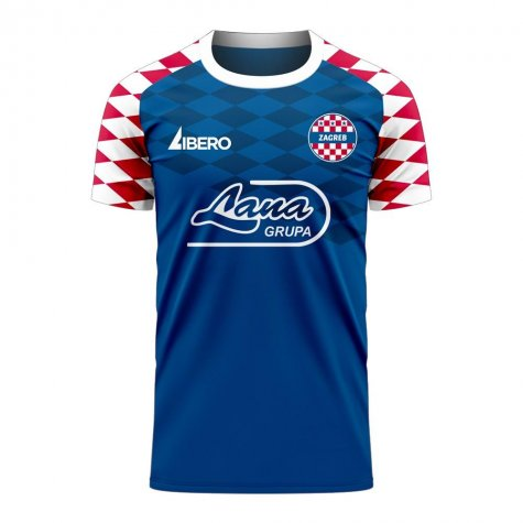 Dinamo Zagreb 2020-2021 Home Concept Football Kit (Libero) - Womens