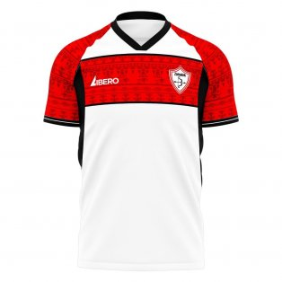 Zamalek 2020-2021 Home Concept Football Kit (Libero)