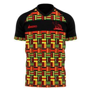 Zambia 2021-2022 Home Concept Football Kit (Libero)