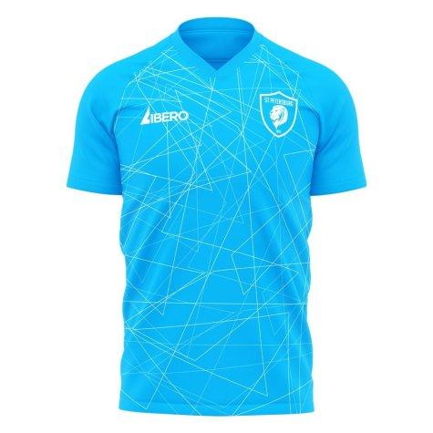 Zenit 2020-2021 Home Concept Football Kit (Libero) - Kids