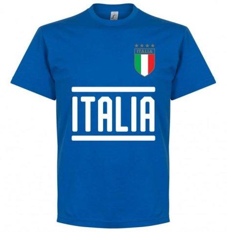 Italy Insigne 10 Team T-Shirt - Royal