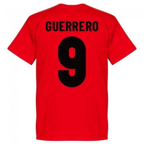 Peru Guerrero 9 Team T-Shirt - Red