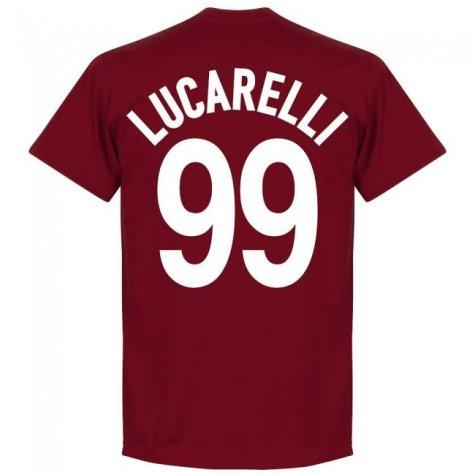 Livorno Lucarelli 99 Team T-Shirt - Maroon