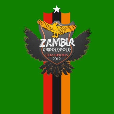 2012 Zambia Winners T-Shirt