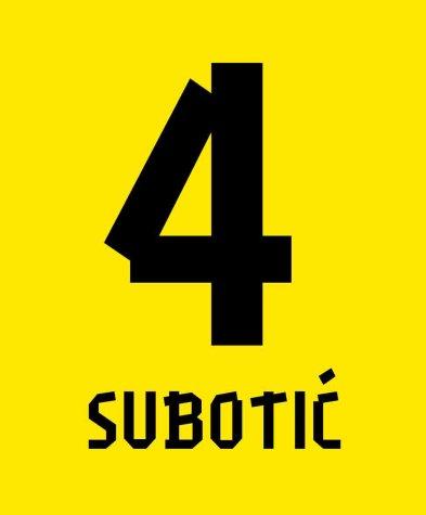 Neven Subotic Borussia Dortmund Hero T-Shirt (Yellow)