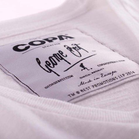 George Best Mallorca 1969 T-Shirt (White)