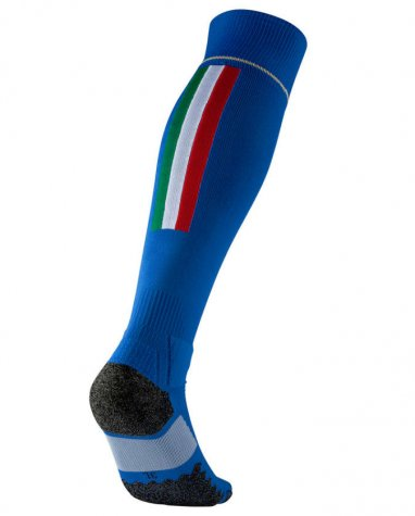 2016-2017 Italy Home Puma Football Socks (Blue)