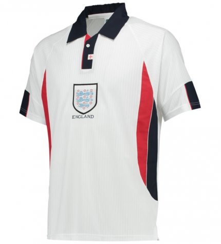 Score Draw England World Cup 1998 Home Shirt (Scholes 16)