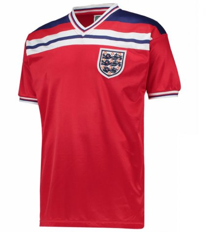 Score Draw England World Cup 1982 Away Shirt (Francis 8)