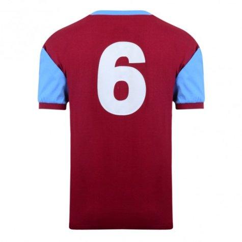 Score Draw West Ham 1958 No6 Home Shirt