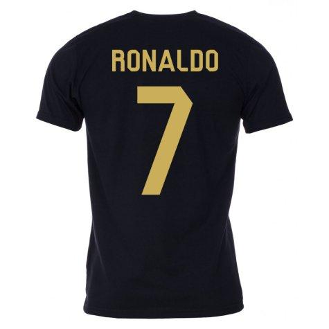 Ronaldo Player of the Year Tee (Black)