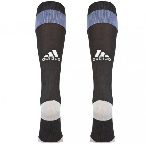 2016-2017 Real Madrid Adidas Third Socks (Black)