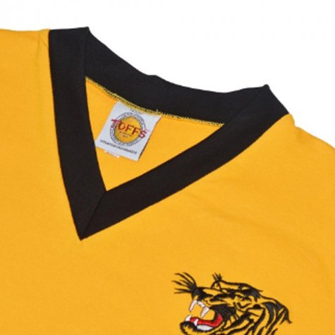 Hull City 1957-1960 Retro Football Shirt