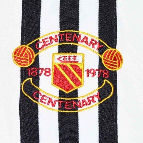 Manchester United 1978 Centenary Away Retro Football Kit